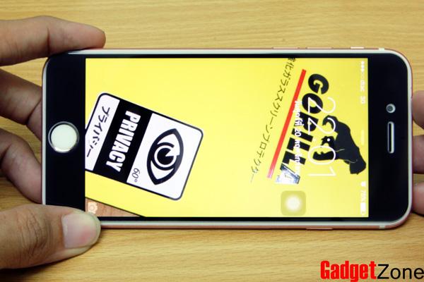 ฟิล์มกันเสือก iphone 6s gorilla privacy