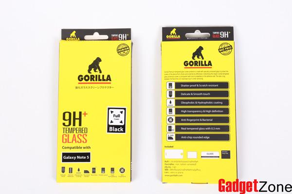 ฟิล์มกระจก โน๊ต5 gorilla note5 เต็มจอ