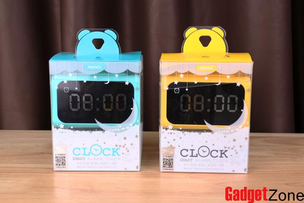 อะแดปเตอร์ remax alarm clock 4usb hub