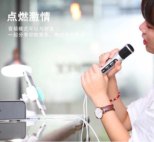 ไมโครโฟนอัดเสียง remax k02 microphone