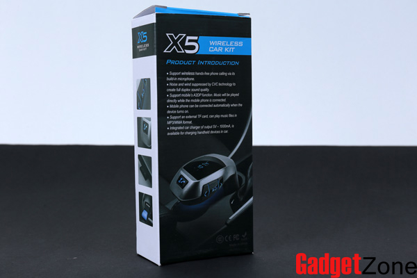 x5 wireless car kit
