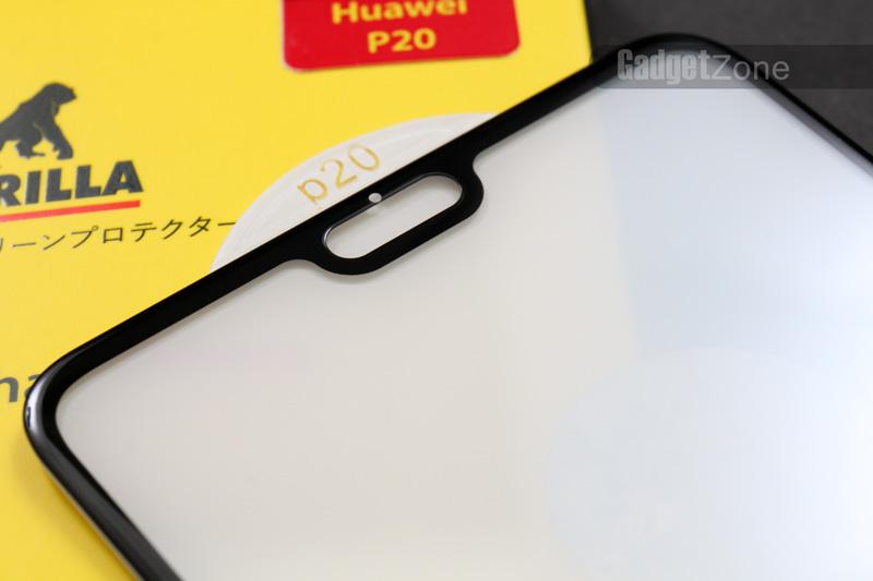 ฟิล์มกระจก p20 gorilla 3d real curved