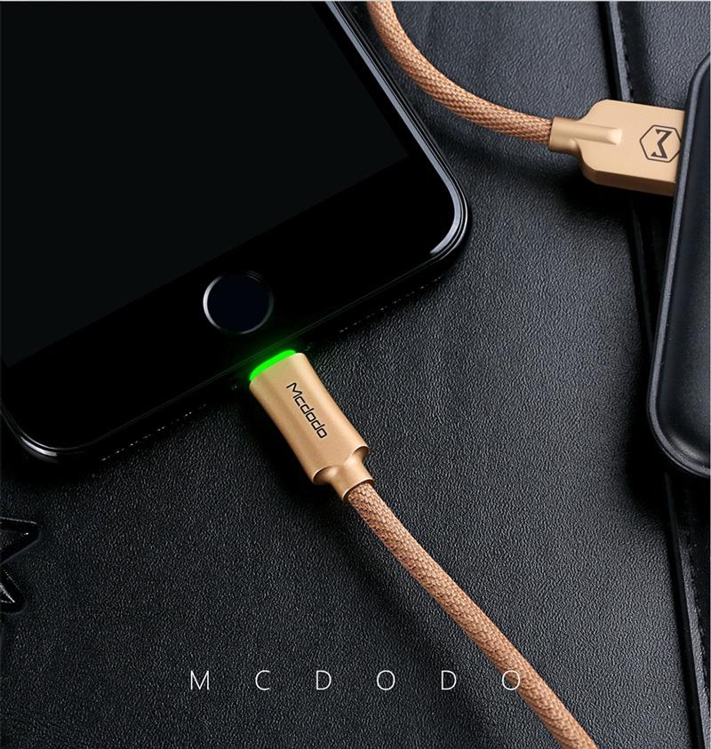 สายชาร์จตัดไฟ ไอโฟน mcdodo auto disconnect
